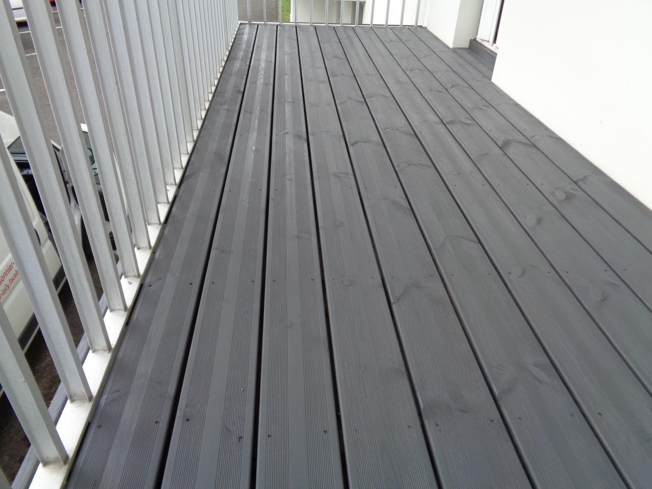 Terrasse de balcon sur mesure