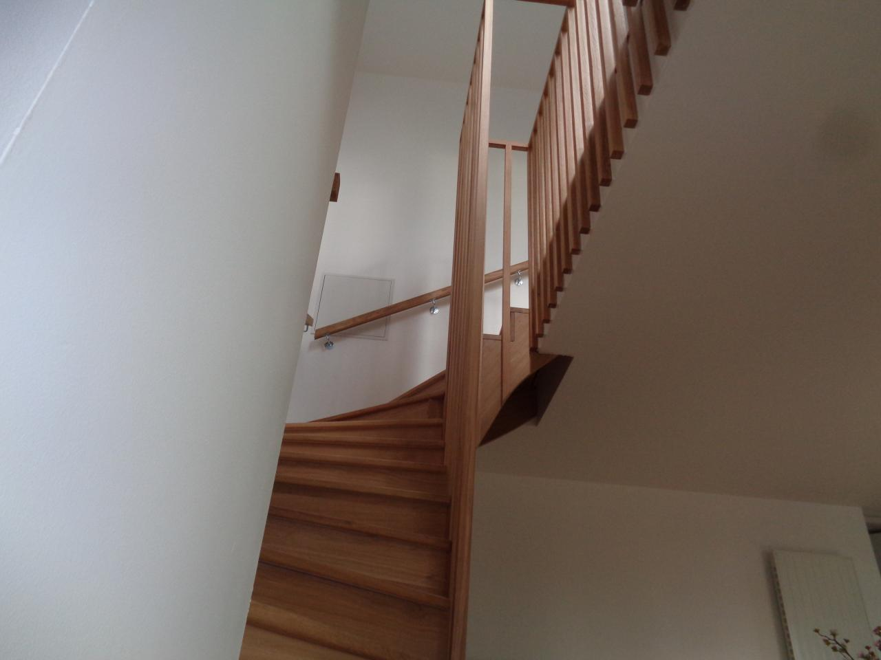 Escalier & garde corps sur mesure.
