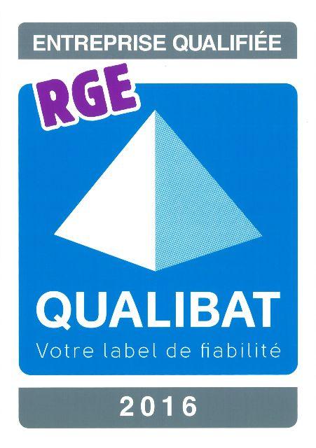 Logo qualibat 2016